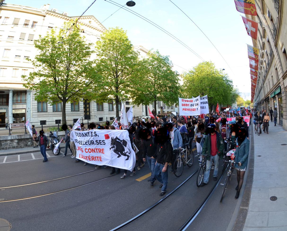 Compte rendu de la manifestation du 23 avril 2013