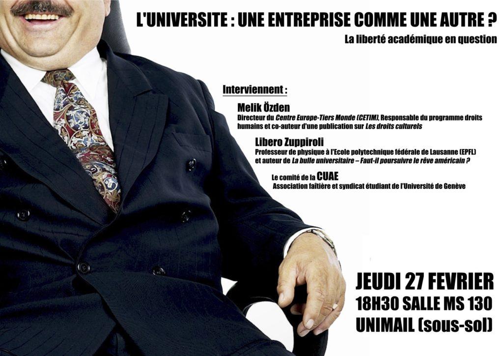 L'Université : une entreprise comme une autre ?